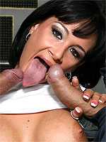 Tory Lane getting rammed by two throbbing cocks