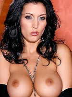 Dylan Ryder in a see thru dress and mini skirt