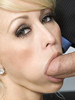 Monique Alexander gets fucked hard in the office