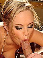 Katie Kox horny housewife on a huge cock till cums