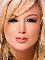 Sexy Kayden Kross in very sexy ribbon lingerie