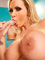 Nikki Benz has her pussy pounded by a big cock
