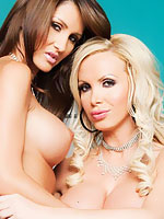 Nikki Benz plays with Rachel Shine sweet pussy