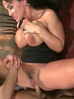 Lisa Ann gets pussy slammed on the dinning table