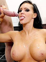 Jenna Presley fucked by an employee in her office