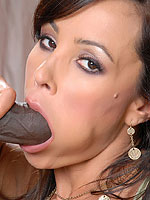 Lisa Ann gets fucked hard by a big black dick