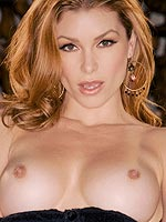 Heather Vandeven takes off her black lingerie