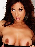 Kirsten Price fondling her sweet pussy