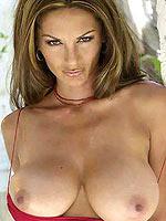 Petra Verkaik unleashes her massive natural tits