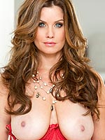 Carrie Stevens gets her tits out of her lingerie