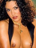 Christina Santiago shows her perky latina breasts