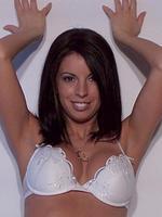Tiffany Preston so slutty in her white sexy lingerie