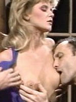 Ginger Lynn classic blonde sucking and fucking