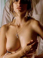 Penelope Cruz sexy actress topless