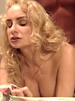 Rebecca Bardoux classic busty blonde gets fucked