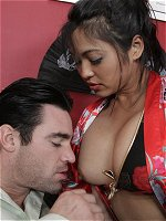 Mika Tan gets her asian box drilled