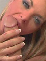 Vicky Vette fills pussy with a huge cock