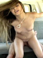 Michelle Maylene fucking in a van