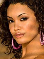 Christina Santiago posing in sexy pink panties
