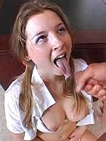Sunny Lane drilled and jizzed in classroom