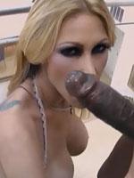 Tiffany Mynx amazing babe black cock munching