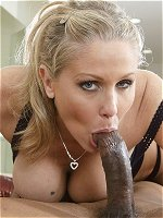 Julia Ann gets fucked by a black stud
