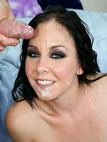 Julie Knight getting off from a deep anal drilling