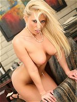 Angelina Ash shows her fine assets