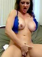 Raquel Devine bigbusty masturbates till the orgasm