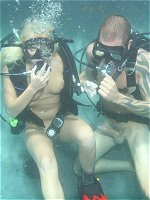 Angelin Ash gets pounded underwater