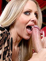 Julia Ann searched for a cock to fuck