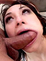 Roxy Jezel licks and sucks dick