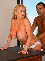 Taylor Wane gets banged in the office
