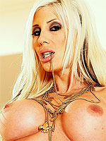 Puma Swede strips her lingerie and toys her pussy
