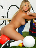 Kelly Norton busty blond barcelona babe