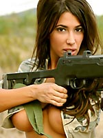 Sophia Lucci sweet hottie with a big riffle