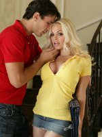 Jesse Jane gets rammed with a big cock