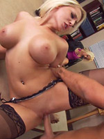 Madison Ivy gets fucked hard for a job