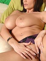 Hot Sensual Jane shows her big natural tits