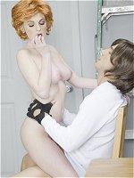 Faye Reagan banged in a porn parody