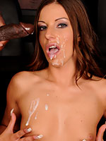 Debbie White hardcore interracial action pictures