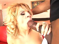 Jenna Taylor takes big black cock right up her juicy twat