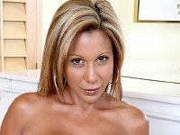 Tanned milf in hardcore action