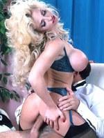 Busty pornstar slut fucked hardcore