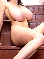 Busty Merilyn Sakova huge tits babe