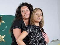 Two teachers in a threesome
