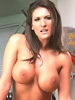 Hot busty pornstar Austin Kincaid