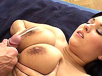 Vendula drilled from behind and cum squirted on her tits and face
