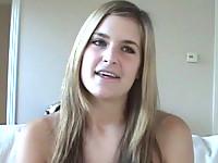 Busty teen babe Danielle
