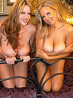 Kelly Madison with Laura Lee fucking a lucky dude good